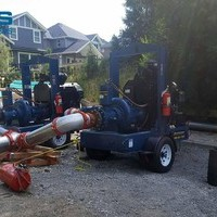 BC Sewer Bypass work