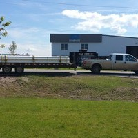 NCS Truck, Loaded and ready to head to site.