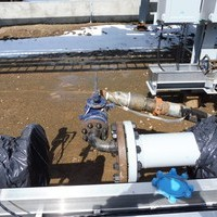 On Site Process Pipe testing