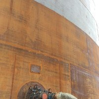 NCS Performs its Second API 650 tank being tested after transfer