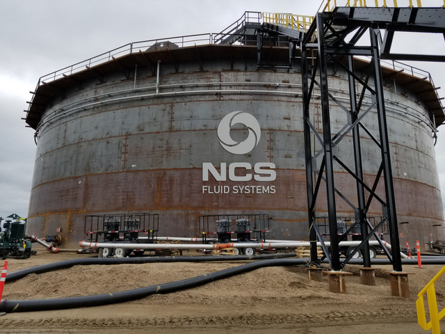 NCS performing API hydrotest in North America