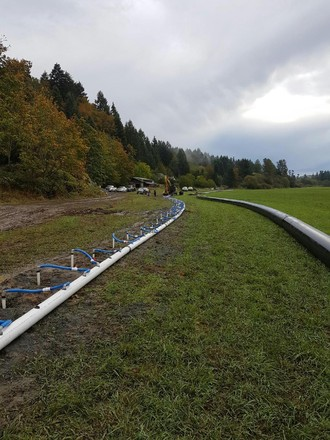 Well Point and HDPE installation